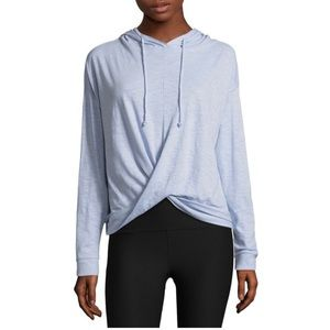 NWT Flirtitude Cross/Wrap Front Pullover Hoodie